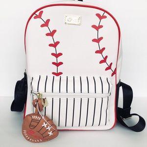 Betsey Johnson Baseball Backpack